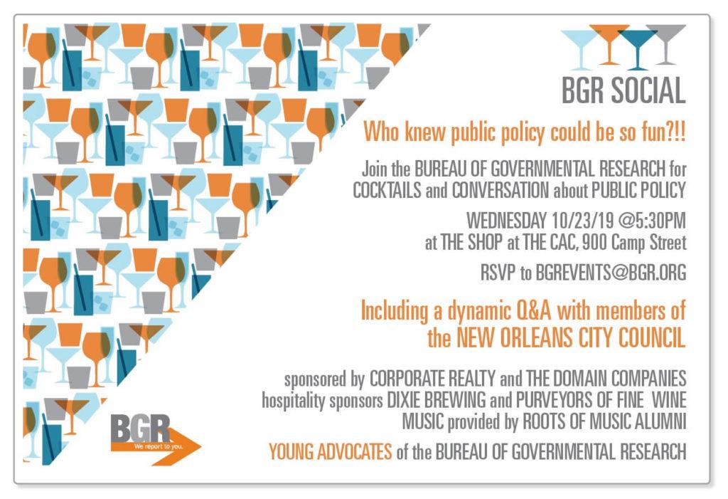 BGR Social Invitation October 23, 2019